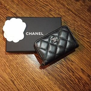 CHANEL classic card holder- Authentic Brand New!